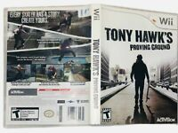 Tony Hawk Proving Ground Nintendo Wii Complete CIB Tested Working Manual