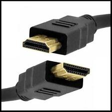 1M Gold Premium HDMI to HDMI High Speed Lead Cable 3D LCD HDTV Video Xbox 1080p