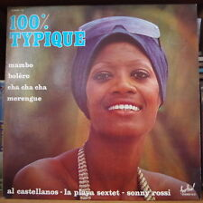 100% TYPIQUE MAMBO-BOLERO-CHA CHA CHA AFRO CHEESECAKE COVER DOUBLE  FRENCH LP