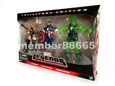 Brand New Marvel Legends Ms Marvel Captain America Radioactive Man Target 3 Pack