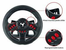 Gaming Wheel with Pedals Universal Racing Game Play Xbox One PC PS4 Set