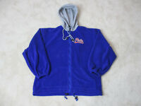 VINTAGE Ralph Lauren Polo Hoodie Sweater Adult Large Blue Script Spell Out 90s