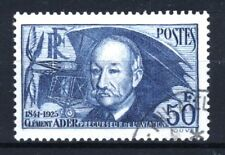 """FRANCE STAMP TIMBRE YVERT 398 """" CLEMENT ADER 50F OUTREMER """" OBLITERE TTB  R852"""