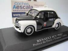 Renault 4CV 4 CV Pie Paris Police 1956 - IXO Altaya 1/43