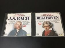 2 CDs: Masters Of Classical Music - Bach And Beethoven