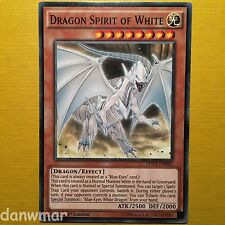 Esprit Du Dragon of White YuGiOh Blue-Eyes Blanc Support Excellent état Carte