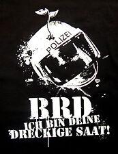 DRECKIGE SAAT Backpatch NEU 36cm BRD Punk Dorks Punkrock Patch Aufnäher Oi