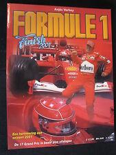 Book Formule 1 Finish 2001 door Anjes Verhey (Nederlands) (MCC)