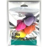 Brittny 4 PIECES Mini Blending Sponge Professional Cosmetic Tools Makeup Blender