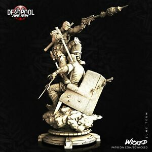 3D printed Deadpool + worldwide Free Shipping