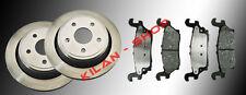 2 Bremsscheiben und Keramik Bremsklötze Hinten Hummer H3 2006 - 2010