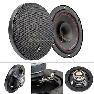 """Audiopipe 6"""" Dual Cone Speakers Pair Slim 50W 4 Ohm 1"""" Voice Coil CSL-1600R"""