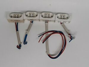 4 Pin Replacement Surface Mount GY IBQ Lamp Socket Lot of 4