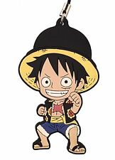 One Piece PVC Strap Keychain Charm New World Dressrose~ Monkey D. Luffy @OP00001