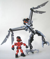 LEGO 8621 Bionicle Metru Nui Turage Dume & Nivawk with Instructions (Pre-Owned):