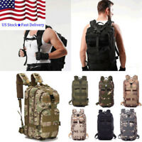 a602396b6943 DRF Vintage Canvas Backpack Tactical Military Style School Bag for ...
