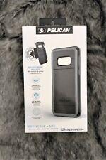 Samsung Galaxy S10e Pelican Protector + AMS Vent Mount Case Black