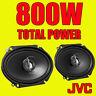 "JVC 6""x9"" 6x9 800W 3-way car/van rear shelf deck oval speakers quality new pair"