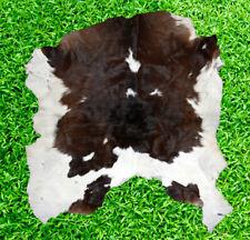 """New Cowhide Rug Hair On COW HIDE RUG Area Rug (32"""" x 28"""") CALFHIDE 6.2 SF"""