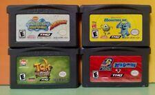 Disney Monsters Inc, Tak, Spongebob, Zero Gravity Nintendo Game Boy Advance GBA