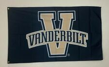 Vanderbilt Banner 3x5 Ft Flag Man Cave Football Basketball Commodores NCAA SEC