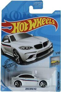 Hot Wheels '16 BMW M2 [white] - New/Sealed Long Card HTF!!