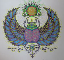 """Marq Spusta 100% HAND COLORED 14"""" Secret of the Sacred Scarab Art Print Poster"""