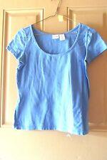Isaac Mizrahi Ladies Blue Pull Over Shirt Small