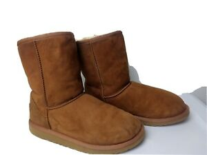 Ugg. 5251 Classic Boots Womens Size 6 Light Brown Pre-Owned