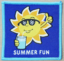 10 Summer fun girl guide girlguide boy scout blanket badge patch patches badges