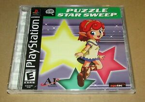 Puzzle Star Sweep for Playstation PS1 Complete Fast Shipping!