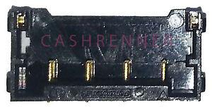Akku FPC Konnektor BTB Anschluss Connector Battery Clip Board Apple iPhone 4 4G