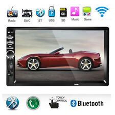 """7"""" LCD 1080P HD Car Touch Screen Bluetooth Stereo Radio Hands-free Audio Player"""