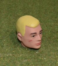 VINTAGE ACTION MAN 40th REPLACEMENT HEAD PAINTED BLONDE HAIR