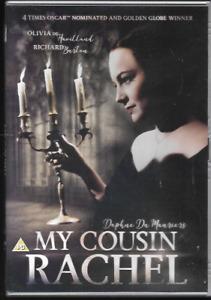 MY COUSIN RACHEL GENUINE R2 DVD OLIVIA DE HAVILLAND RICHARD BURTON VGC