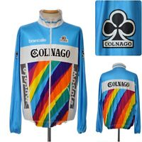 vintage 90s COLNAGO Ultima CYCLING JACKET size 6 Modolo brancale Italy jersey XL