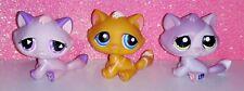 LOT authentic LPS 576 349 1660 PETSHOP chat GOUTTIERE TABBY CAT kitty pet shop