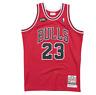 Authentic Pro Jersey Chicago Bulls Road Finals 1997-98 Michael Jordan Red Medium