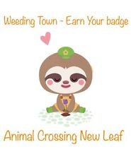 Weeding Raid Town (Earn Your Badge) - Animal Crossing New Leaf