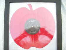 BEATLES LOVE ME DO red apple beat 3 n/m framed........ 45rpm