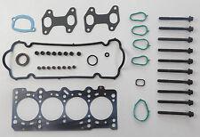 Testa Guarnizione Set & Bulloni Fit FIAT Punto MK 2 PANDA DOBLO 1.2 8V 2003 su