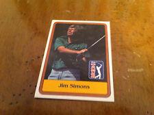 1981 Golf Trading Card PGA TOUR #48 Jim Simons Collectible Sports Rare Collector