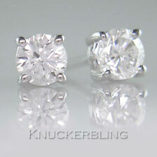 Butterfly 18 Carat White Gold VVS1 Fine Diamond Earrings