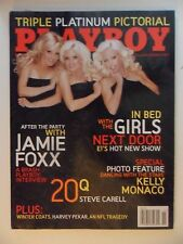 Playboy Magazine November 2005 ~ The Girls Next Door Raquel Gibson Kelly Monaco