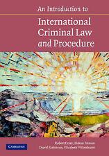 An Introduction to International Criminal Law an, Robert Cryer, Håkan Friman, Da