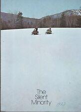 Vintage Northway Snowmobile Sales Brochure 6 Pages (522)