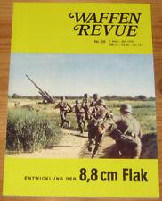 Waffen Revue Nr. 28 - 8,8-cm-Flak, Mittl. Schützen-Panzerwagen, 7,5-cm-Pak 97/38