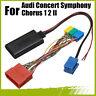 bluetooth Adapter MP3 AUX In Musica CD per Audi Concert Symphony Chorus 1 2 II