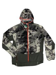 Nike 651234-035 Men Gray Suggested Trail Running Windbreaker Jacket Size XL R100