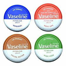Vaseline Lip Therapy 20g Petroleum Jelly Aloe Vera/Cocoa Butter/Rosy/Original